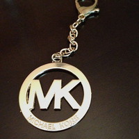 NWOT! Michael Kors Gold Chain Key Ring