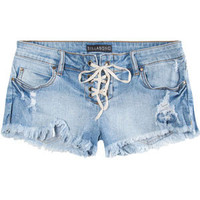 BILLABONG Lite Heart Womens Lace Up Denim Shorts 210703858 | Shorts | Tillys.com