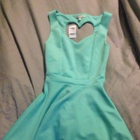 Teal Charlotte Russe Dre...