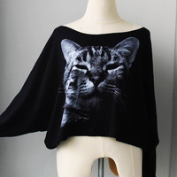 The Sleeping cat Pullover Oversize style Bat Style by Tshirt99