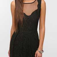 Urban Outfitters - Pins And Needles Lace Sheer-Back Dress