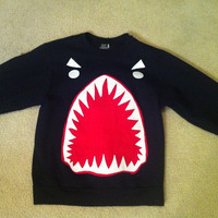 Sharkface Sweatershirt