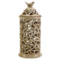 One Kings Lane - Adventures in Artistry - Vivienne Cutwork Lidded Jar, Medium