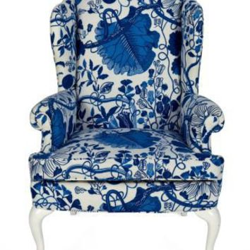One Kings Lane - House of Honey - Vintage Wingback Chair