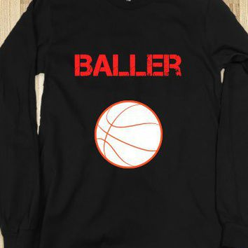 Baller long sleeve tee~JoBows~