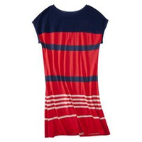Jason Wu Jersey Dress in Red/Navy Stripes
