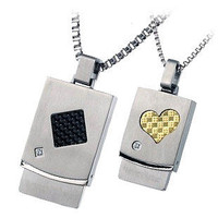 Matching Pendants Couple necklace Jewelry - GULLEITRUSTMART.COM
