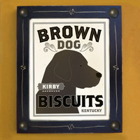 Personalized Chocolate Labrador Retriever Kitchen Art by DexMex