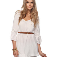 Belted Pintuck Tunic | FOREVER21 - 2000013775