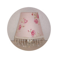 Shabby Chic Garden Rose ~ Night Light 4 colors available by ToileChicBoutique