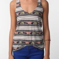 BDG Printed Super Skinny Racerback Tank Top (2 for 24)