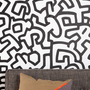 Urban Outfitters - Keith Haring Pattern Wall Decal