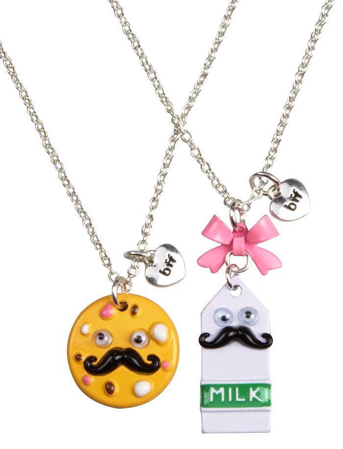 Milk amp cookies bff necklaces necklaces from justice epic