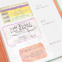 Urban Outfitters - Ticket Stub Diary By Chronicle Books