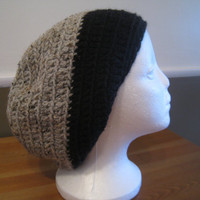 Crochet Slouchy Beanie by RitasKnots on Etsy