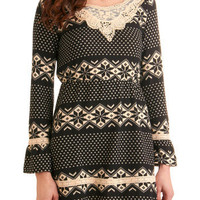 Be-cozy I Said So Dress | Mod Retro Vintage Printed Dresses | ModCloth.com