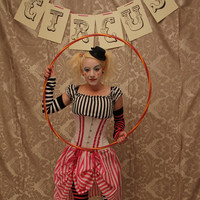 Circus Clown Corset Costume OufitWhole Corset by AliceAndWillow