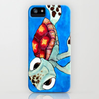 Squirt From Finding Nemo iPhone Case by Jadie Miller | Society6