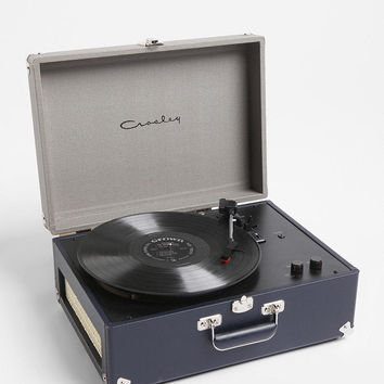 Crosley X UO AV Room Portable USB Vinyl Record Player- Green One