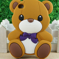 Cute 3D Bear Silicone Ba...