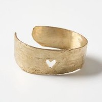 Heart Birch Cuff - Anthropologie.com