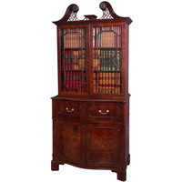 1STDIBS.COM - Michael Pashby Antiques - The Norfolk House George II Mahogany Secretaire Bookcase