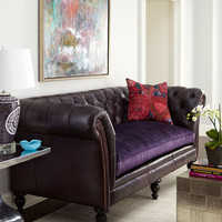 Old Hickory Tannery - &quot;Shirley&quot; Sofa - Horchow