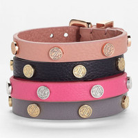 MARC BY MARC JACOBS 'Turnlock' Leather Bracelet | Nordstrom