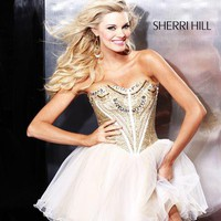 Sherri Hill Short Dress2788 at Prom Dress Shop