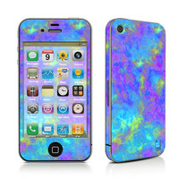 Psychedelic Mushrooms Effects - iPhone 4/4s/5 Decal Sticker PLUS Matching Wallpaper