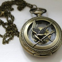 Jezie Jewelry  The Arena is a Clock! Necklace