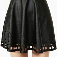 Clean Cut Skater Skirt