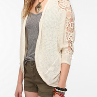 Urban Outfitters - Staring At Stars Crochet Sleeve Dolman Cardigan