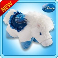 "Amazon.com: Pillow Pets® - Cinderella Horse - Authentic Disney® 18"" Large Folding Plush Pillow: Toys & Games"