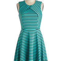 Ambient Turquoise Dress | Mod Retro Vintage Dresses | ModCloth.com