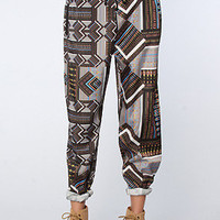 Ladakh The Tribal Jigsaw Pant in Multi