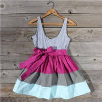 Eddie Colorblock Dress, Sweet Women's Country Clothing