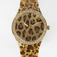 Guess Animal Print Watch - Women&#x27;s Watches | Buckle