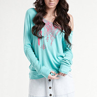 Kendall &amp; Kylie Long Sleeve Fleece at PacSun.com
