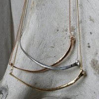 Luna & Curious; Cast Snake Bone Necklaces