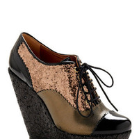 Multi-Fab Wedge | Mod Retro Vintage Wedges | ModCloth.com
