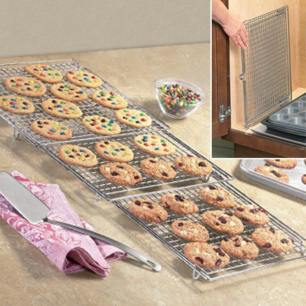 Expandable Cooling Rack - Fresh Finds - Cooking &gt; Gadgets &amp; Tools
