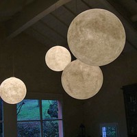LIGHTING - Pendant Lights - Luna Moon Pendant Light by Ocylunam for In-Es