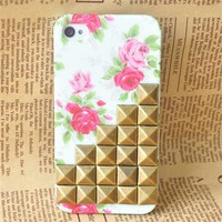 Studded iPhone 4 4S Case...