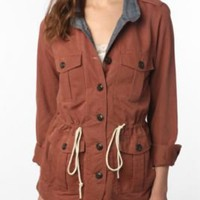 UrbanOutfitters.com &gt; OBEY Hemmingway Military Jacket