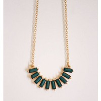 Jade Flats Mini Necklace