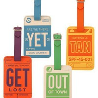 Luggage Tag - Travel - Fun + Functional
