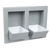 Designer Pet Eatery In-Wall Pet Bowl - Gray