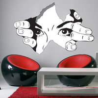 The Observer - Wall Decal for housewares