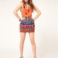 ASOS | ASOS Mexicana Mini Skirt at ASOS